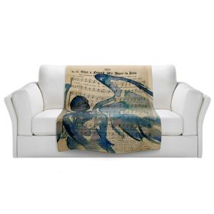 Artistic Sherpa Pile Blankets | Kathy Stanion - Calling All Angels LII
