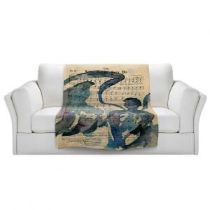 Artistic Sherpa Pile Blankets | Kathy Stanion - Calling All Angels LV