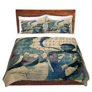 Artistic Duvet Covers and Shams Bedding   Kathy Stanion - Calling All Angels LV