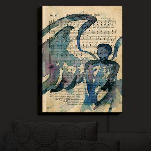 Nightlight Sconce Canvas Light | Kathy Stanion - Calling All Angels LV | Sheet Music Angels Prayer