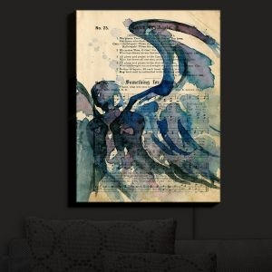 Nightlight Sconce Canvas Light | Kathy Stanion - Calling All Angels LVI | Sheet Music Angels Prayer