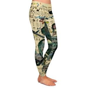 Casual Comfortable Leggings | Kathy Stanion - Calling All Angels XLIX