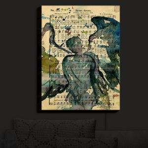 Nightlight Sconce Canvas Light | Kathy Stanion - Calling All Angels XLIX | Sheet Music Angels Prayer
