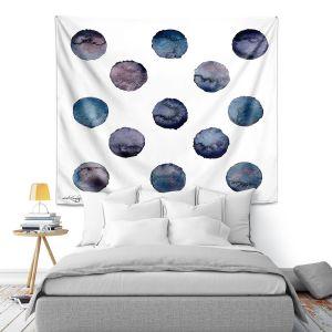 Artistic Wall Tapestry | Kathy Stanion - Circle Joy 2 | simple pattern geometric