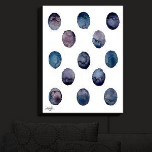 Nightlight Sconce Canvas Light | Kathy Stanion - Circle Joy 2 | simple pattern geometric