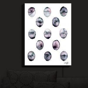 Nightlight Sconce Canvas Light   Kathy Stanion - Circle Joy 3   simple pattern geometric