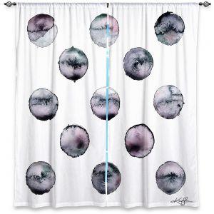 Decorative Window Treatments | Kathy Stanion - Circle Joy 3 | simple pattern geometric