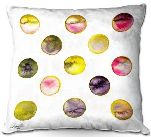 Throw Pillows Decorative Artistic | Kathy Stanion - Circle Joy 5 | simple pattern geometric