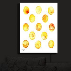 Nightlight Sconce Canvas Light | Kathy Stanion - Circle Joy 6 | simple pattern geometric