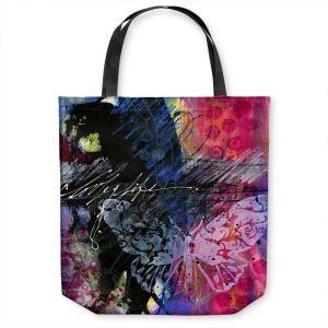 Unique Shoulder Bag Tote Bags   Kathy Stanion - Coddiwomple17   abstract brush collage butterfly