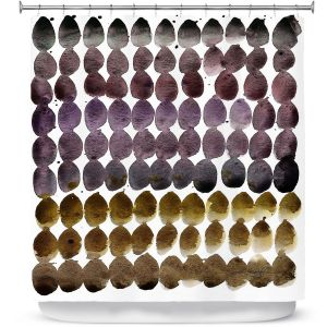 Premium Shower Curtains | Kathy Stanion - Color Jewels III