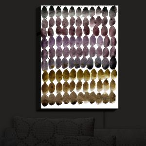 Nightlight Sconce Canvas Light | Kathy Stanion - Color Jewels III | Patterns