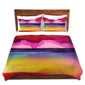 Artistic Duvet Covers and Shams Bedding   Kathy Stanion - Desert Dreams IV