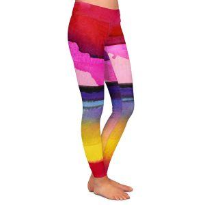 Casual Comfortable Leggings | Kathy Stanion - Desert Dreams IV