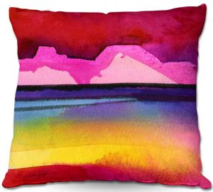 Decorative Outdoor Patio Pillow Cushion | Kathy Stanion - Desert Dreams IV