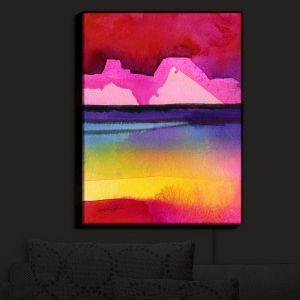 Nightlight Sconce Canvas Light | Kathy Stanion - Desert Dreams IV