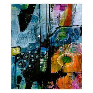 Decorative Wood Plank Wall Art | Kathy Stanion - Dream Travel 01 | abstract shape pattern