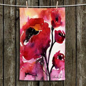 Unique Bathroom Towels   Kathy Stanion - Floral 17