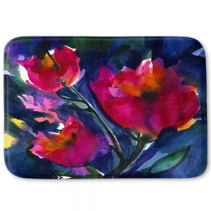 Decorative Bathroom Mats | Kathy Stanion - Floral Dreams