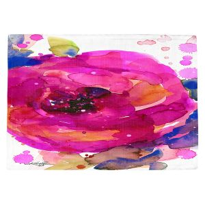 Countertop Place Mats   Kathy Stanion - Floral Enchantment 9   Nature Abstract Landscape Flowers
