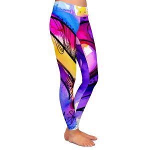 Casual Comfortable Leggings | Kathy Stanion Heart Dance