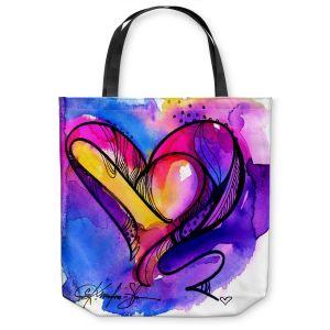Unique Shoulder Bag Tote Bags | Kathy Stanion Heart Dance