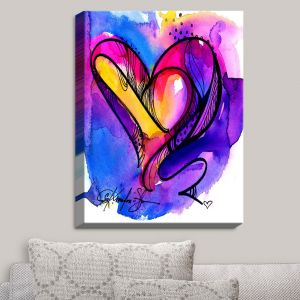 Decorative Canvas Wall Art | Kathy Stanion - Heart Dance