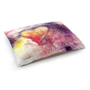 Decorative Dog Pet Beds | Kathy Stanion - Journey of the Heart 3 | shape love abstract dark