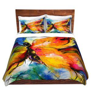 Artistic Duvet Covers and Shams Bedding | Kathy Stanion - Joyful Ecstascy II