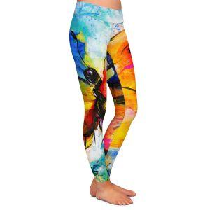 Casual Comfortable Leggings | Kathy Stanion - Joyful Ecstascy II