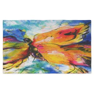 Artistic Pashmina Scarf | Kathy Stanion - Joyful Ecstascy II | Butterflies Whimsical