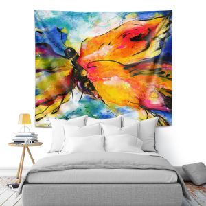 Artistic Wall Tapestry   Kathy Stanion - Joyful Ecstascy II