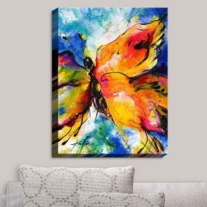 Decorative Canvas Wall Art | Kathy Stanion - Joyful Ecstascy II | Butterflies Whimsical