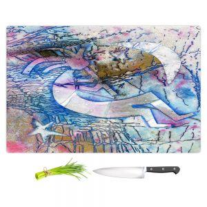 Artistic Kitchen Bar Cutting Boards | Kathy Stanion - Kokopelli Spirit Dreams