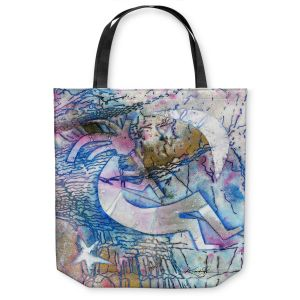 Unique Shoulder Bag Tote Bags |Kathy Stanion - Kokopelli Spirit Dreams