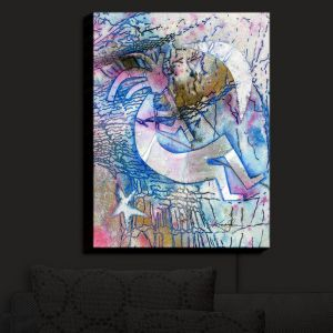 Nightlight Sconce Canvas Light | Kathy Stanion - Kokopelli Spirit Dreams | Mystical Spirits