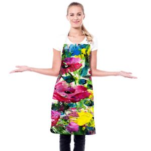 Artistic Bakers Aprons | Kathy Stanion - Meadow Dreams 46 | Nature Flowers