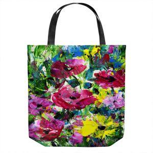 Unique Shoulder Bag Tote Bags | Kathy Stanion - Meadow Dreams 46 | Nature Flowers