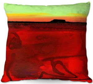 Decorative Outdoor Patio Pillow Cushion | Kathy Stanion - Mesa XII