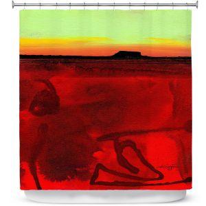 Premium Shower Curtains | Kathy Stanion - Mesa XII