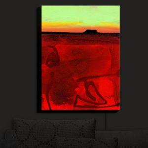 Nightlight Sconce Canvas Light | Kathy Stanion - Mesa XII | Desert Landscape