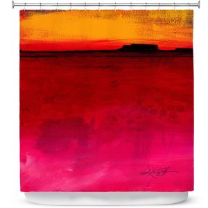 Unique Shower Curtain from DiaNoche Designs by Kathy Stanion - Mesa LIV Mesa 54