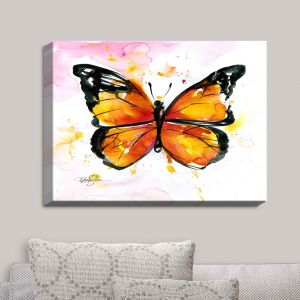 Decorative Canvas Wall Art | Kathy Stanion - Monarch Butterfly