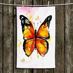 Unique Bathroom Towels | Kathy Stanion - Monarch Butterfly