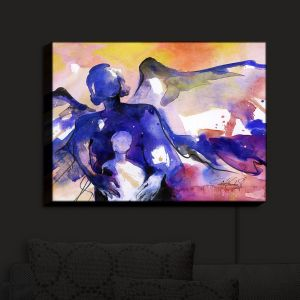 Nightlight Sconce Canvas Light | Kathy Stanion - Mother and Child