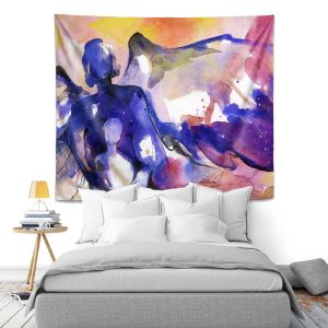 Artistic Wall Tapestry | Kathy Stanion Mother and Child