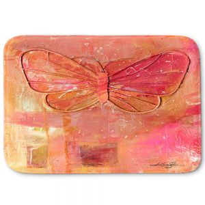 Decorative Bathroom Mats | Kathy Stanion - Ode To The Butterfly