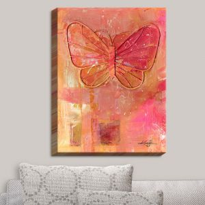 Decorative Canvas Wall Art | Kathy Stanion - Ode To The Butterfly | Butterfly