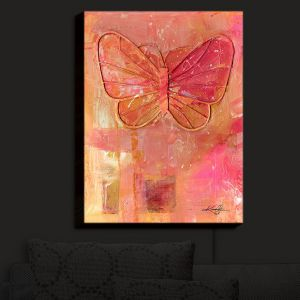 Nightlight Sconce Canvas Light | Kathy Stanion - Ode To The Butterfly | Butterfly
