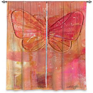 Decorative Window Treatments | Kathy Stanion - Ode To The Butterfly